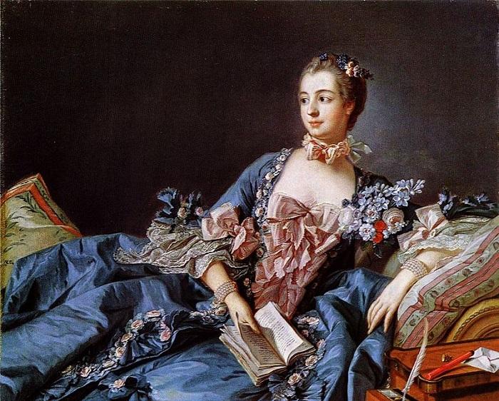 Портрет работы Франсуа Буше.